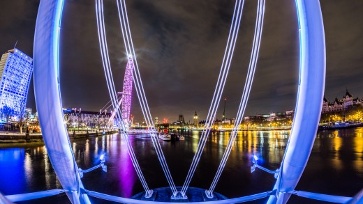 London Southbank with Sony A5100 and Samyang 8mm f/2.8 II Fish-Eye