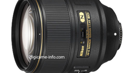 Nikon AF-S Nikkor 105mm f/1.4E ED – To Be Announced [Rumour]