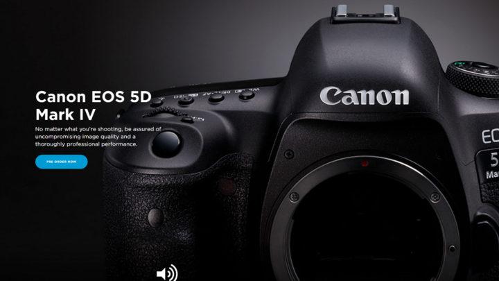 Canon 5D MK IV - Header