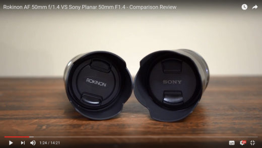 Rokinon/Samyang/Bower 50mm f/1.4 FE AF vs Sony 50mm f/1.4 FE Planar – Comparison