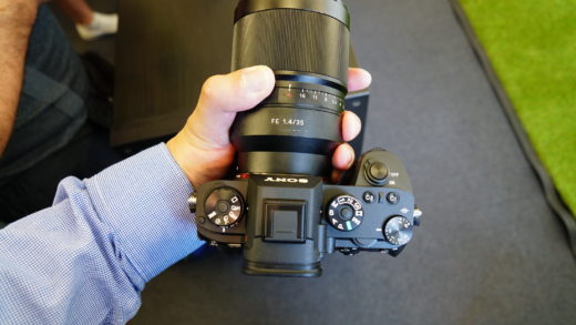 Sony A9 – Hands-On
