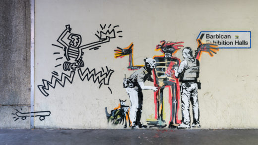 Banksy – Barbican Exhibition Centre – #PhotographingLondon